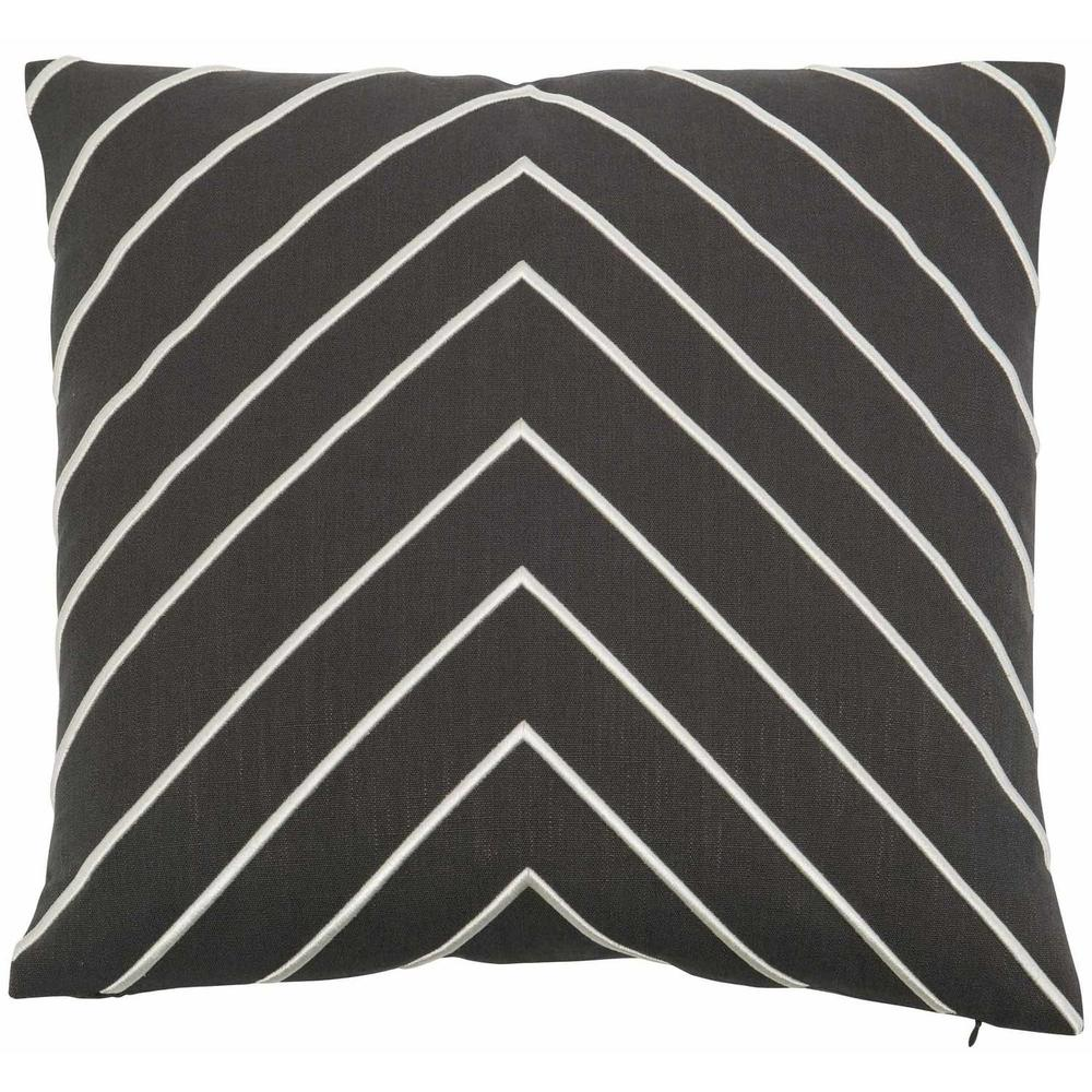 """See Details - Luxe Pillows Large Herringbone (22"""" x 22"""")"""