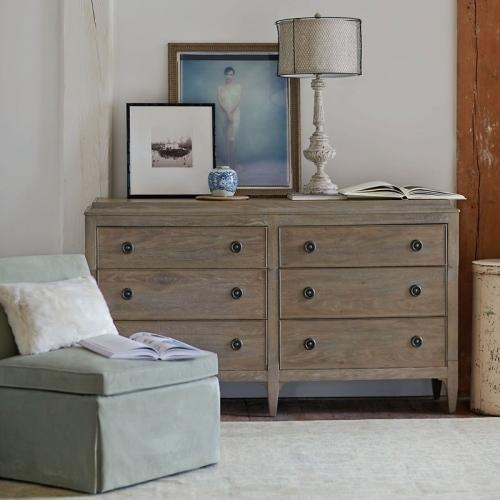 Bernhardt - Auberge Dresser in Weathered Oak (351)