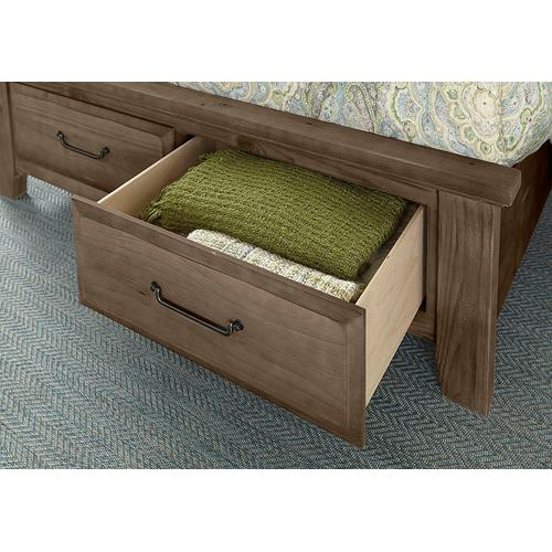Louver Storage Bed