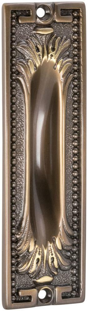 Ornate Flush Cup in (SB Shaded Bronze, Lacquered) Product Image
