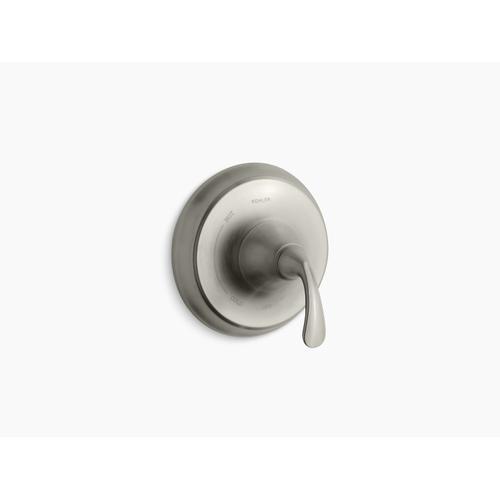 Kohler - Vibrant Brushed Nickel Sculpted Rite-temp Valve Trim
