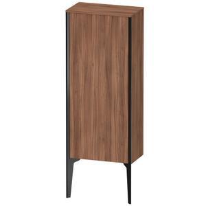 Semi-tall Cabinet Floorstanding, Natural Walnut (decor)