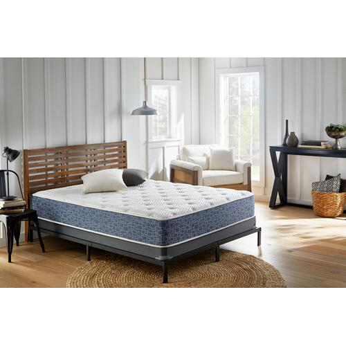 "American Bedding 13"" Medium Tight Top Mattress in Box, California King"