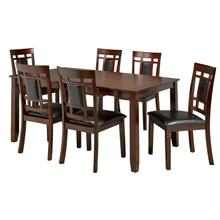 See Details - 7-piece Dining Table Set - Espresso