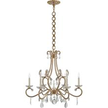 AERIN Montmartre 6 Light 30 inch Hand-Rubbed Antique Brass Chandelier Ceiling Light, Medium