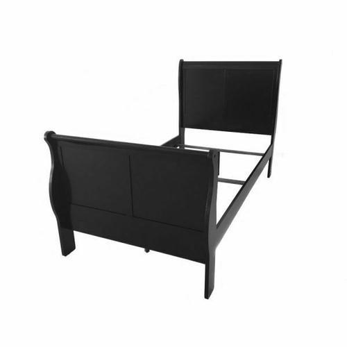 ACME Louis Philippe III Twin Bed - 19510T - Black