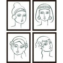 Boho Portraits S/4