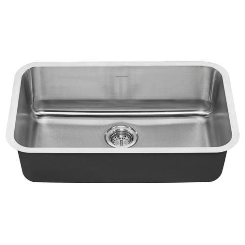 American Standard - Portsmouth Undermount 30x18 Single Bowl Kitchen Sink  American Standard - Stainless Steel