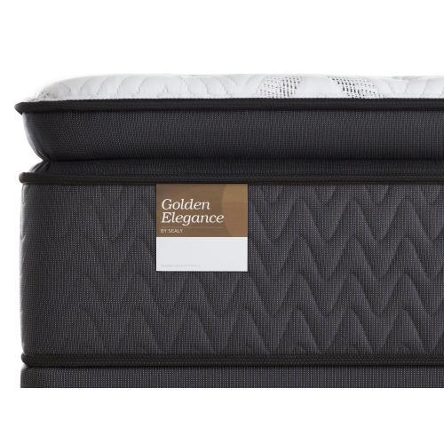 Golden Elegance - Precious Magnificence - Euro Pillow Top - Plush - Full