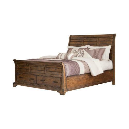 Elk Grove Rustic Vintage Bourbon Eastern King Bed