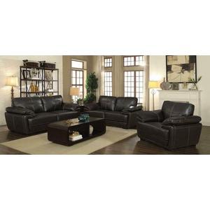 Zenon Casual Brown Sofa