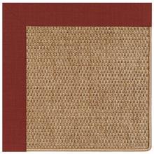 "View Product - Islamorada-Basketweave Dupione Henna - Rectangle - 24"" x 36"""