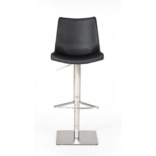 VIG Furniture - Modrest Aaron - Modern Black Eco-Leather Bar Stool