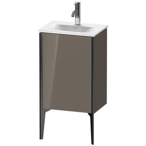 Vanity Unit Floorstanding, Flannel Gray High Gloss (lacquer)