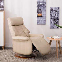 Oscar Recliner in Cobble Air Leather