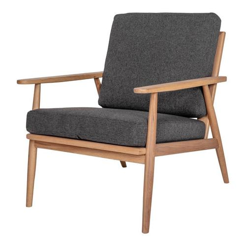 Moe's Home Collection - Harper Lounge Chair Anthracite
