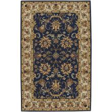 "Eloquent Garden Navy - Rectangle - 2'6"" x 3'6"""