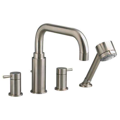 American Standard - Serin Deck-Mount Bathtub Faucet - Brushed Nickel