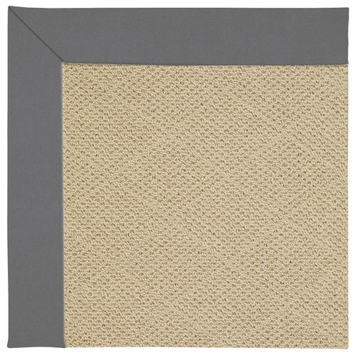 Creative Concepts-Cane Wicker Canvas Charcoal Machine Tufted Rugs
