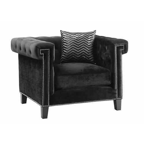 Reventlow Formal Black Chair