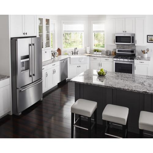 Maytag - 30-Inch Wide Gas Range With True Convection And Power Preheat - 5.8 Cu. Ft.
