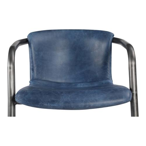 Moe's Home Collection - Freeman Dining Chair Blue-m2