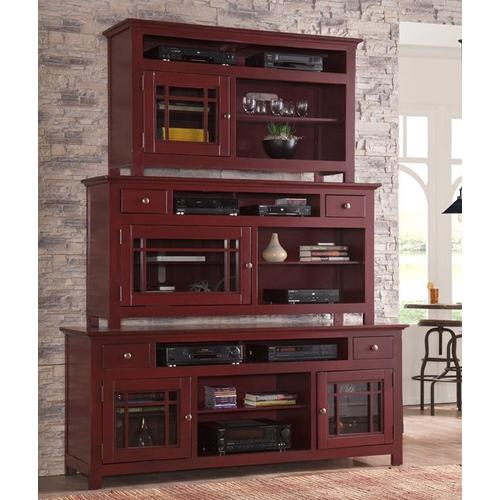 """54\"""" Console - Red Finish"""