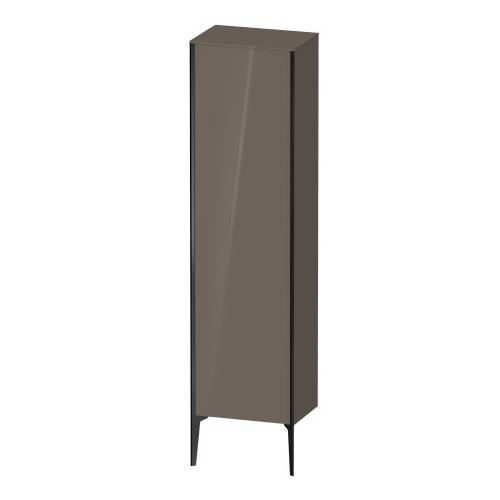 Duravit - Tall Cabinet Floorstanding, Flannel Gray High Gloss (lacquer)