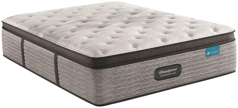 SimmonsBeautyrest - Harmony Lux - Carbon Series - Plush - Pillow Top - Queen