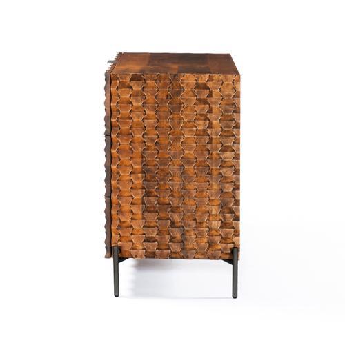 Raffael 3 Drawer Dresser-antique Brown