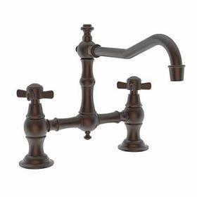English Bronze Kitchen Bridge Faucet