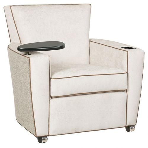 Fairfield - Payton Lounge Chair with Casters, Tablet, UV-C