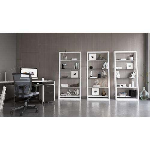 BDI Furniture - Eileen Blanc 5157 Leaning Shelf in Smooth Satin White
