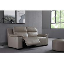 Divani Casa Braum Modern Leather Sofa w/ Electric Recliner