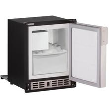 """See Details - 15"""" Crescent Ice Maker With Stainless Solid Finish (115 V/60 Hz Volts /60 Hz Hz)"""