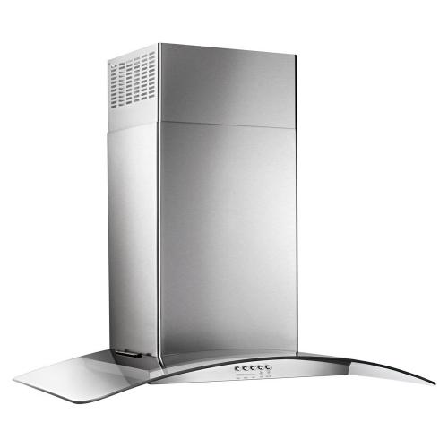 "SCRATCH & DENT 30"" Concave Glass Wall Mount Range Hood"