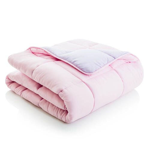 Reversible Bed in a Bag Split Queen Lilac