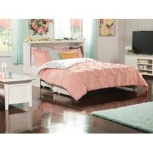 See Details - Madison Murphy Bed Chest Queen White with Charging Station