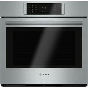 "BoschBENCHMARK SERIESBenchmark Series, 30"", Single Wall Oven, SS, EU Conv., TFT Touch Control"