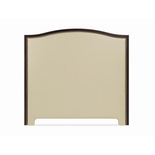 King Wood Arch Uph Headboard