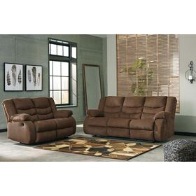 Tulen Reclining Sofa & Loveseat Chocolate