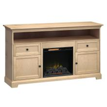 See Details - FT72D Extra Tall Fireplace Custom TV Console