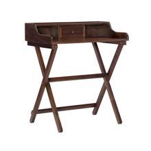 See Details - Dakota Folding Desk Walnut