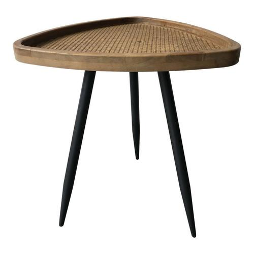 Rollo Rattan Side Table