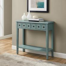 Sadie Small Console Teal