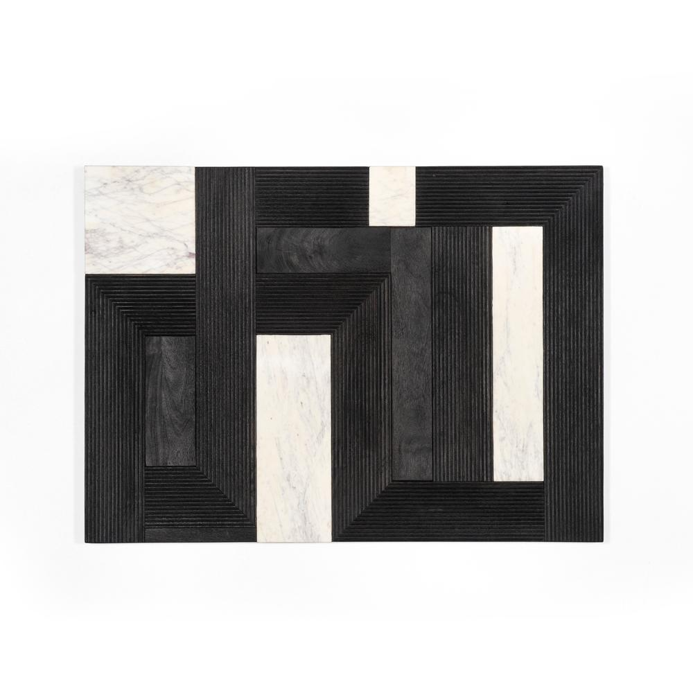 Capela Wall Panel-dark Reeded Totem