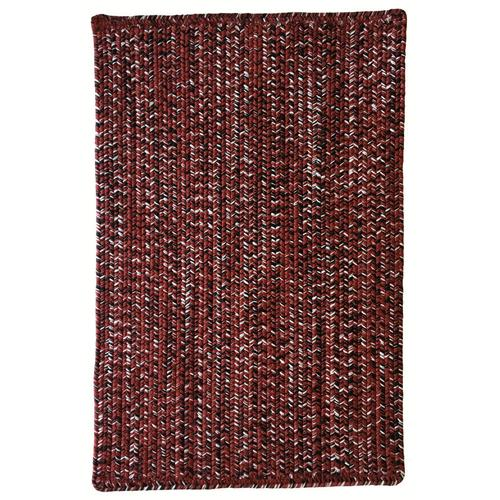 Team Spirit Burgundy Black Braided Rugs