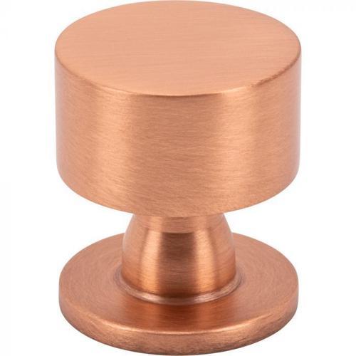 Vesta Fine Hardware - Dante Knob 1 1/8 Inch Satin Copper Satin Copper