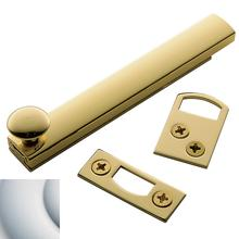 Satin Chrome General Purpose Surface Bolt