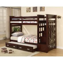 Beckley Twin over Twin Bunkbed, Espresso